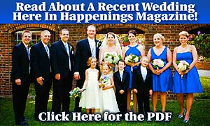 Stone Bridge Wedding Article in Happenings